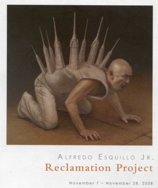 Alfredo Esquilllo Jr.: Reclamation Project (Tin-aw Art Gallery)