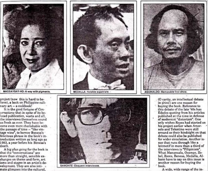 At Last! An Oral History of Philippine Art